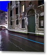 San Marco By Nightt Metal Print