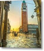 San Marco - Venice - Italy  Metal Print