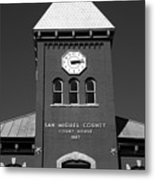 San Miguel County Courthouse Metal Print