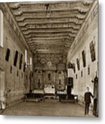 San Miguel Mission California Circa 1915 Metal Print