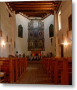 San Miguel Mission Church Metal Print