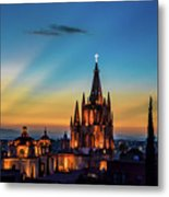 San Miguel Sunset Metal Print