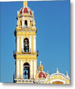 San Pedro Church Tower Metal Print