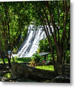 San Saba Waterfall Metal Print