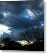 San Salvador Sunset 4 Metal Print