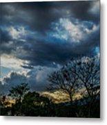 San Salvador Sunset 5 Metal Print