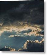 San Salvador Sunset 6 Metal Print