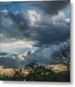 San Salvador Sunset Metal Print