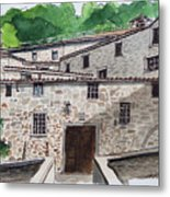 Sanctuary Of St. Francis Metal Print
