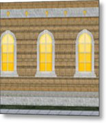 Sanctuary Windows And Walls Metal Print
