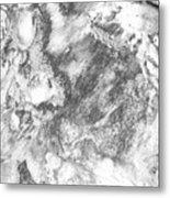 Sand 3 Metal Print