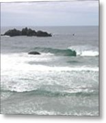 Sand And Sea 9 Metal Print