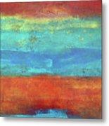 Sand And Sea I Metal Print