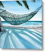 Sand And Shadows Metal Print