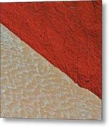 Sand And Stone Metal Print