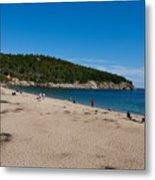 Sand Beach Acadia National Park Metal Print