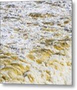 Sand Beach And Wave 5 Metal Print