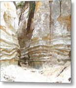 Sand Canyon Of San Clemente Metal Print