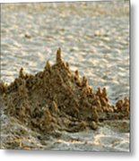 Sand Castle Metal Print