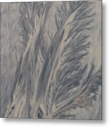Sand Drawing 1 Metal Print