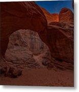 Sand Dune Arch II Metal Print
