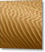 Sand Dune Mojave Desert California Metal Print