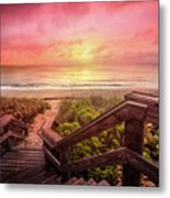 Sand Dune Morning Metal Print