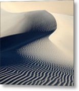 Sand Dunes Patterns In Death Valley Metal Print