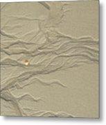 Sand Fire 2 Metal Print