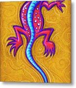 Sand Lizard Metal Print