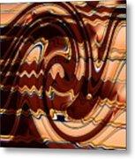 Sand Painting Metal Print
