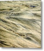 Sand Pattern Metal Print