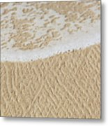 Sand Patterns Metal Print
