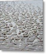 Sand Sculptures 2 Metal Print