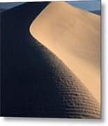 Sand Sculptures In Death Valley Metal Print