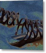 Sand Shoes II Metal Print