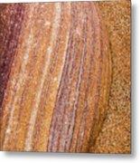 Sand Stone Metal Print