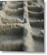 Sand Tracks Metal Print