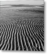 Sandbar Patterns Metal Print