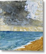 Sandgate Beach. Kent  Metal Print
