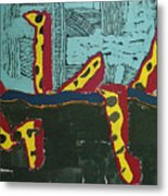 Sandia Cottonwood The Mantid Metal Print