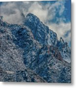 Sandia Mountains 2 Metal Print