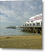 Sandown Pier Metal Print