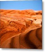 Sandstone Edge Metal Print