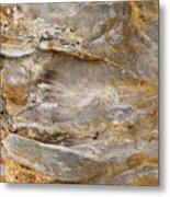 Sandstone Formation Number 2 At Starved Rock State Metal Print