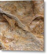 Sandstone Formation Number 4 At Starved Rock State Metal Print