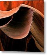 Sandstone Melody Metal Print