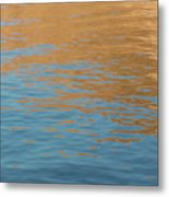 Sandstone Reflections Metal Print