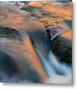 Sandstone Reflections Metal Print by Mike  Dawson