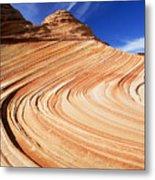 Sandstone Slide Metal Print